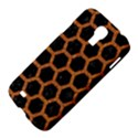 HEXAGON2 BLACK MARBLE & RUSTED METAL (R) Samsung Galaxy S4 I9500/I9505 Hardshell Case View4