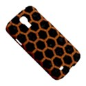 HEXAGON2 BLACK MARBLE & RUSTED METAL (R) Samsung Galaxy S4 I9500/I9505 Hardshell Case View5