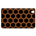 HEXAGON2 BLACK MARBLE & RUSTED METAL (R) Samsung Galaxy Tab Pro 8.4 Hardshell Case View1