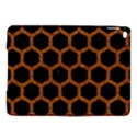 HEXAGON2 BLACK MARBLE & RUSTED METAL (R) iPad Air 2 Hardshell Cases View1