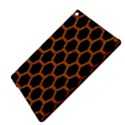 HEXAGON2 BLACK MARBLE & RUSTED METAL (R) iPad Air 2 Hardshell Cases View4