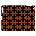 PUZZLE1 BLACK MARBLE & RUSTED METAL Apple iPad 3/4 Hardshell Case View1