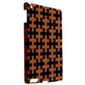 PUZZLE1 BLACK MARBLE & RUSTED METAL Apple iPad 3/4 Hardshell Case View2