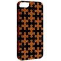 PUZZLE1 BLACK MARBLE & RUSTED METAL Apple iPhone 5 Classic Hardshell Case View2