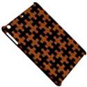 PUZZLE1 BLACK MARBLE & RUSTED METAL Apple iPad Mini Hardshell Case View5