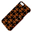 PUZZLE1 BLACK MARBLE & RUSTED METAL Apple iPhone 5 Hardshell Case with Stand View4