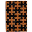 PUZZLE1 BLACK MARBLE & RUSTED METAL iPad Air Flip View1