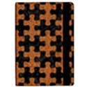 PUZZLE1 BLACK MARBLE & RUSTED METAL iPad Air Flip View2