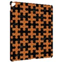PUZZLE1 BLACK MARBLE & RUSTED METAL Apple iPad Pro 12.9   Hardshell Case View2