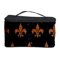ROYAL1 BLACK MARBLE & RUSTED METAL Cosmetic Storage Case
