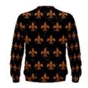 ROYAL1 BLACK MARBLE & RUSTED METAL Men s Sweatshirt View2