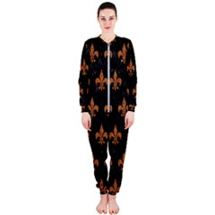 ROYAL1 BLACK MARBLE & RUSTED METAL OnePiece Jumpsuit (Ladies)
