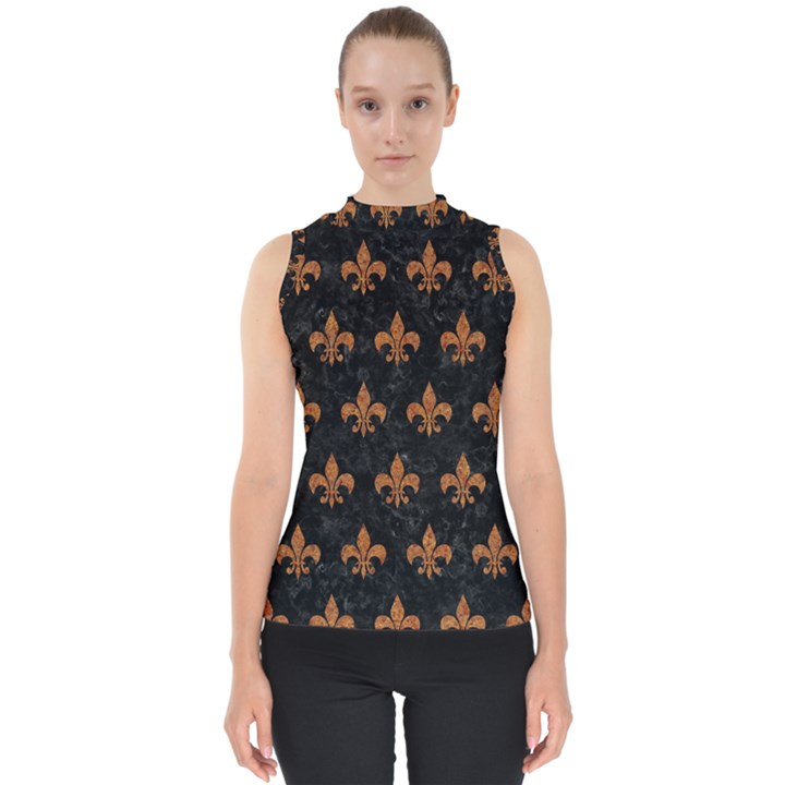 ROYAL1 BLACK MARBLE & RUSTED METAL Shell Top