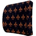 ROYAL1 BLACK MARBLE & RUSTED METAL Back Support Cushion View3