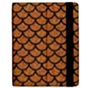 SCALES1 BLACK MARBLE & RUSTED METAL Apple iPad Mini Flip Case View2