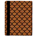 SCALES1 BLACK MARBLE & RUSTED METAL Apple iPad Mini Flip Case View3