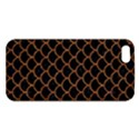 SCALES1 BLACK MARBLE & RUSTED METAL (R) iPhone 5S/ SE Premium Hardshell Case View1