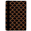 SCALES1 BLACK MARBLE & RUSTED METAL (R) iPad Air Flip View4