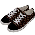 SCALES1 BLACK MARBLE & RUSTED METAL (R) Women s Low Top Canvas Sneakers View2