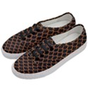 SCALES1 BLACK MARBLE & RUSTED METAL (R) Women s Classic Low Top Sneakers View2