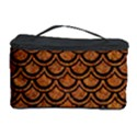 SCALES2 BLACK MARBLE & RUSTED METAL Cosmetic Storage Case View1