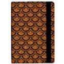 SCALES2 BLACK MARBLE & RUSTED METAL iPad Air 2 Flip View2