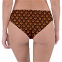 SCALES2 BLACK MARBLE & RUSTED METAL Reversible Classic Bikini Bottoms View2