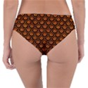 SCALES2 BLACK MARBLE & RUSTED METAL Reversible Classic Bikini Bottoms View4