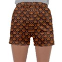 SCALES2 BLACK MARBLE & RUSTED METAL Sleepwear Shorts View1