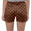 SCALES2 BLACK MARBLE & RUSTED METAL Sleepwear Shorts View2