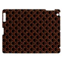 SCALES2 BLACK MARBLE & RUSTED METAL (R) Apple iPad 3/4 Hardshell Case View1