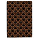 SCALES2 BLACK MARBLE & RUSTED METAL (R) iPad Mini 2 Flip Cases View1