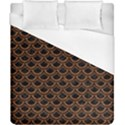 SCALES2 BLACK MARBLE & RUSTED METAL (R) Duvet Cover (California King Size) View1