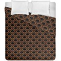 SCALES2 BLACK MARBLE & RUSTED METAL (R) Duvet Cover Double Side (California King Size) View1