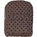 SCALES2 BLACK MARBLE & RUSTED METAL (R) Full Print Backpack View1