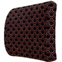 SCALES2 BLACK MARBLE & RUSTED METAL (R) Back Support Cushion View3