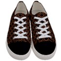 SCALES2 BLACK MARBLE & RUSTED METAL (R) Women s Low Top Canvas Sneakers View1