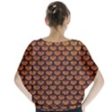 SCALES3 BLACK MARBLE & RUSTED METAL Blouse View2