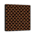 SCALES3 BLACK MARBLE & RUSTED METAL (R) Mini Canvas 6  x 6  View1