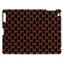 SCALES3 BLACK MARBLE & RUSTED METAL (R) Apple iPad 3/4 Hardshell Case View1