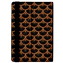 SCALES3 BLACK MARBLE & RUSTED METAL (R) iPad Mini 2 Flip Cases View4