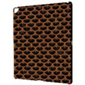 SCALES3 BLACK MARBLE & RUSTED METAL (R) Apple iPad Pro 12.9   Hardshell Case View3