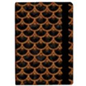 SCALES3 BLACK MARBLE & RUSTED METAL (R) Apple iPad Pro 10.5   Flip Case View2