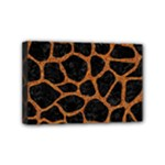 SKIN1 BLACK MARBLE & RUSTED METAL Mini Canvas 6  x 4