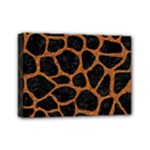 SKIN1 BLACK MARBLE & RUSTED METAL Mini Canvas 7  x 5