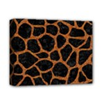 SKIN1 BLACK MARBLE & RUSTED METAL Deluxe Canvas 14  x 11