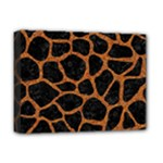 SKIN1 BLACK MARBLE & RUSTED METAL Deluxe Canvas 16  x 12