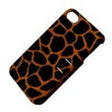 SKIN1 BLACK MARBLE & RUSTED METAL Apple iPhone 4/4S Hardshell Case with Stand View4