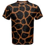 SKIN1 BLACK MARBLE & RUSTED METAL Men s Cotton Tee