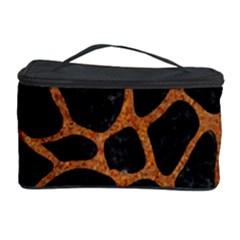 SKIN1 BLACK MARBLE & RUSTED METAL Cosmetic Storage Case